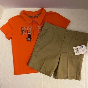 Carter's/Healthtex Toddler Boy's 2-Piece Outfit